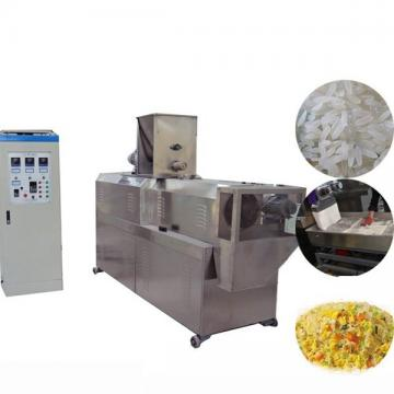 Huaxing Brand Single Screw Extruder Fried 3D Pellet Snacks Food Extruder